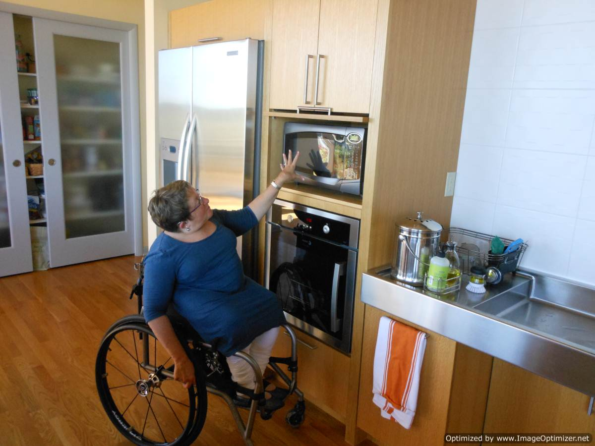Age ready barrier free design for Wheelchair accessible houses